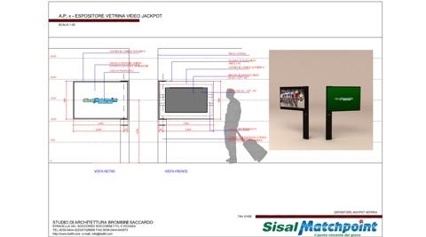 Sisal Matchpoint Vetrine – Corner