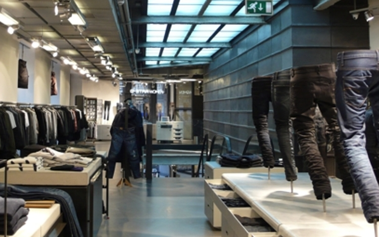 G-Star Raw – Retail service