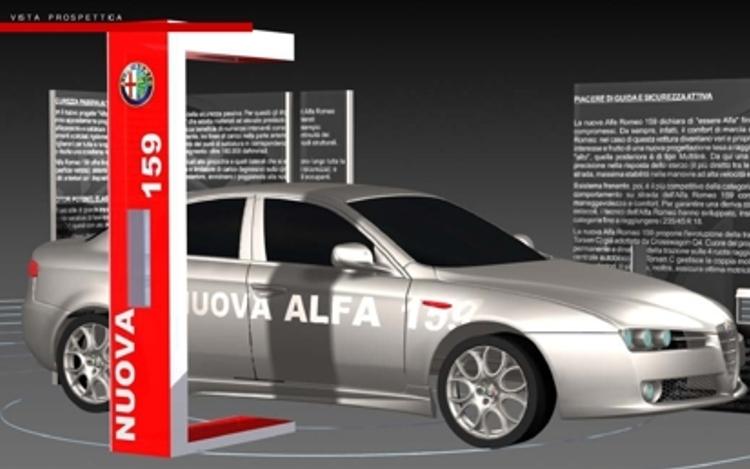 Alfa Romeo 159 – Stand