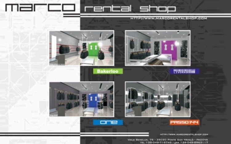 Mar.Co Rental Shop – Concept