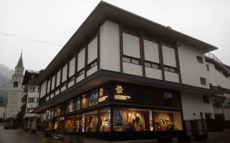 La Cooperativa di Cortina – Restyling Facciate
