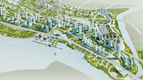 Quanzhou China Jin Jiang – Masterplan