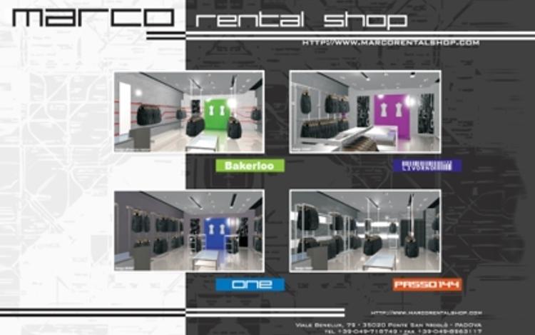 Mar.Co Rental Shop – Concept